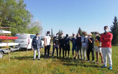 Accueil des jeunes du Kayak Club Terre de Camargue Le Grau du Roi